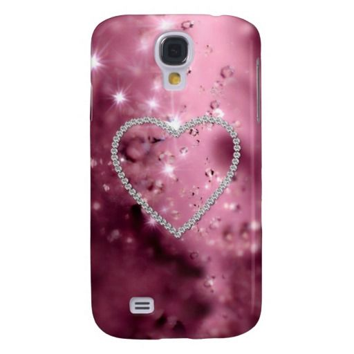 Cute Girly Glamor Love Heart
