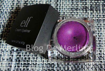 Delineador En Crema Cream Eyeliner Punk Purple De ELF ~ Maquillaje... Tips, Productos y Opiniones