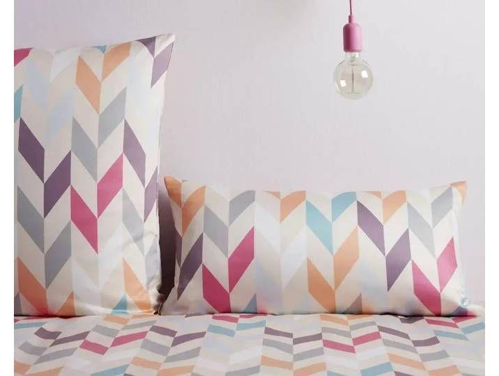 Covered Mako Satin Bettwasche Heringbone 716 1 Bettwasche 155x220 Cm In 2020 Throw Pillows Pillows Bed