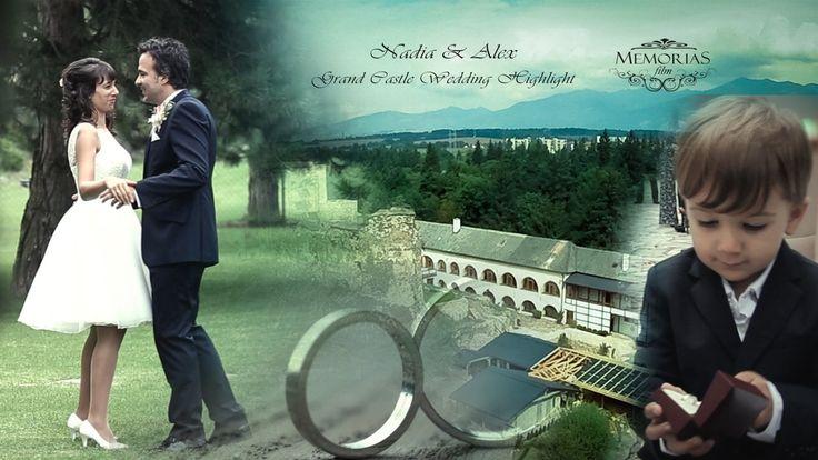 "Nadia & Alex Grand Castle Wedding Highlight 07'21"""