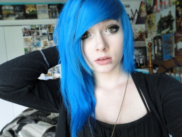221 Best Beautiful3 Images On Pinterest Colourful Hair Coloured