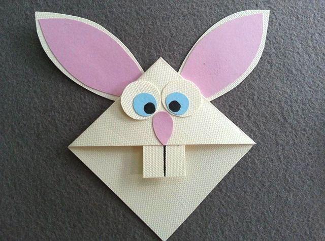 Adorável marcador de página em formato de coelhinho da páscoa