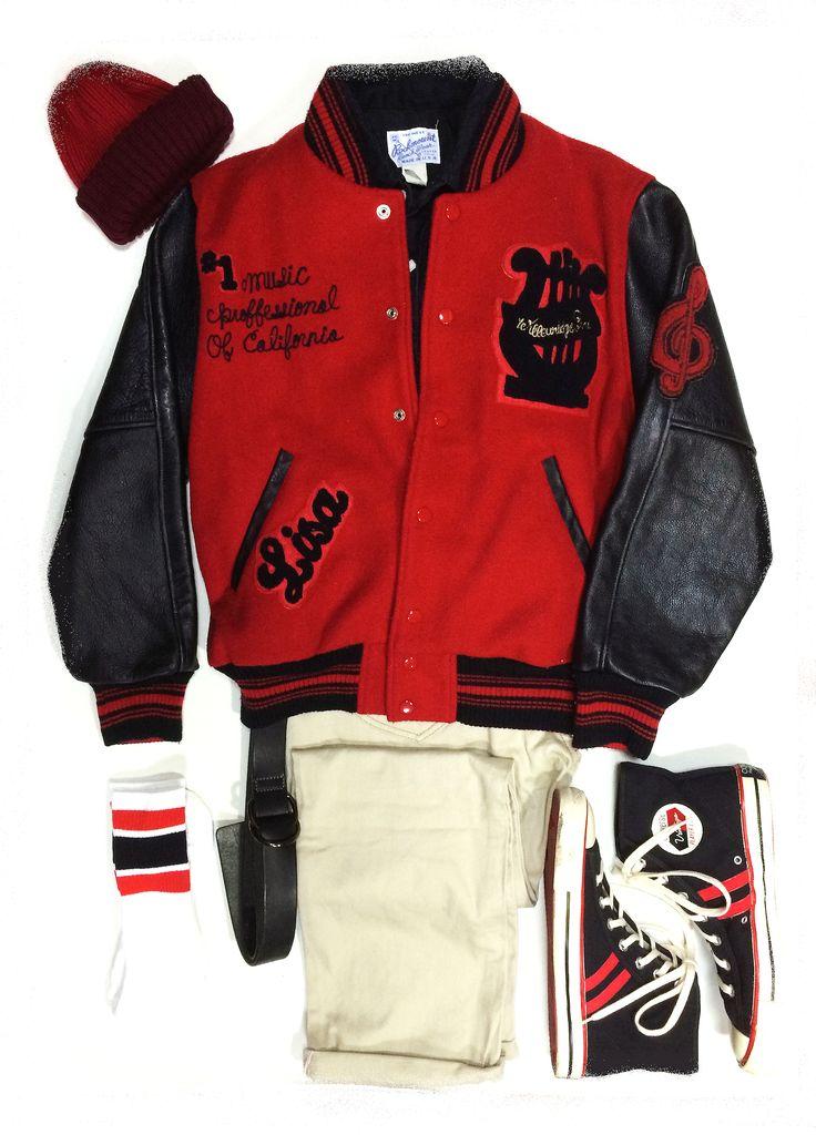 Versity Jacket (California Ivy Style)