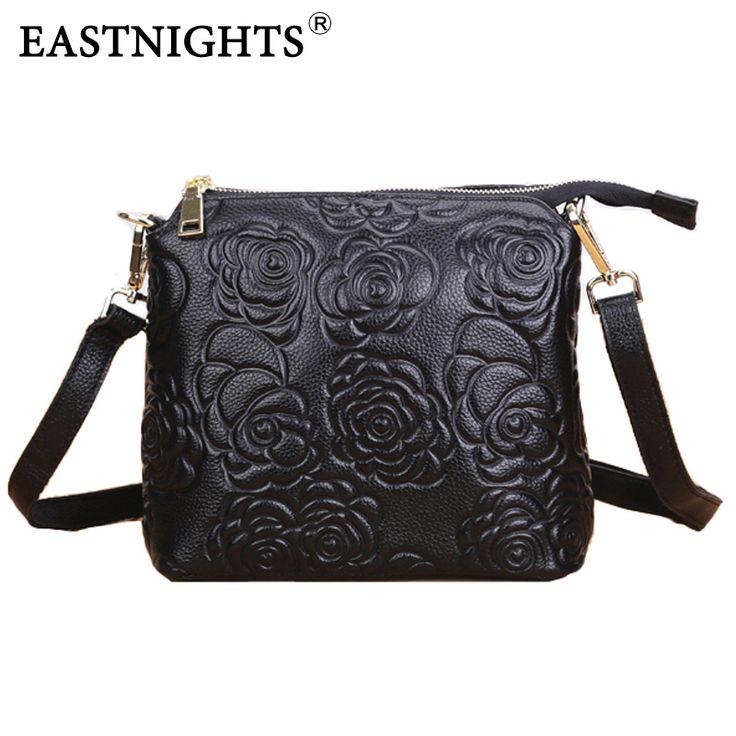 EASTNIGHTS 2016แฟชั่นกระเป๋าถือหนังแท้ผู้หญิงกระเป๋าสะพายกระเป๋าMessengerสุภาพสตรีC Rossbodyกระเป๋าB Olsas Femininas TW2814
