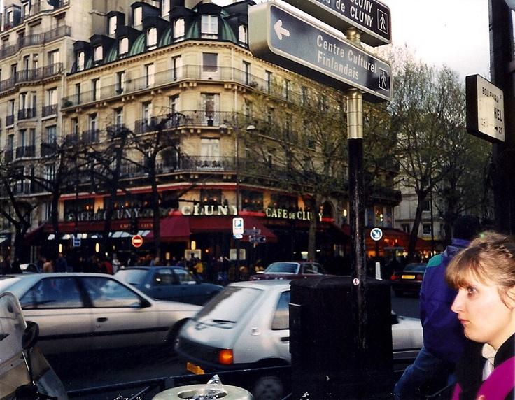 Pictures Of Paris France Cafes