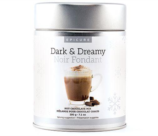 Mélange pour Chocolat Chaud Noir Fondant
