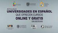 Huy Carajo: Universidades en español que dictan cursos online ...