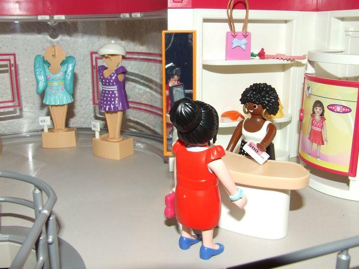 Playmobil Shopping Center 5485 Store Mall Einkaufsbummel Kurzfilm Stop M...