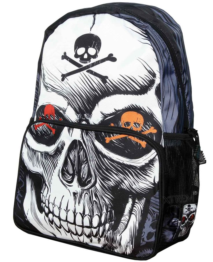 Mochila Toxic Skull de Banned #calavera #skull #rock #metal #gothic #xtremonline