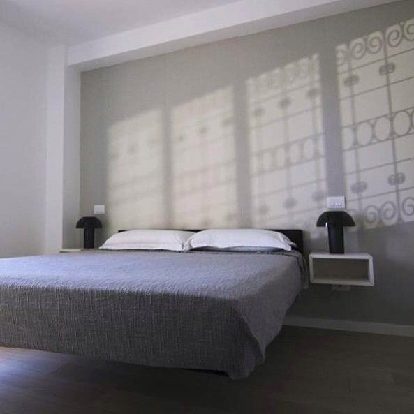 Floating dreams with #fluttua #bed   #lagodesign #interiordesign #bedroom