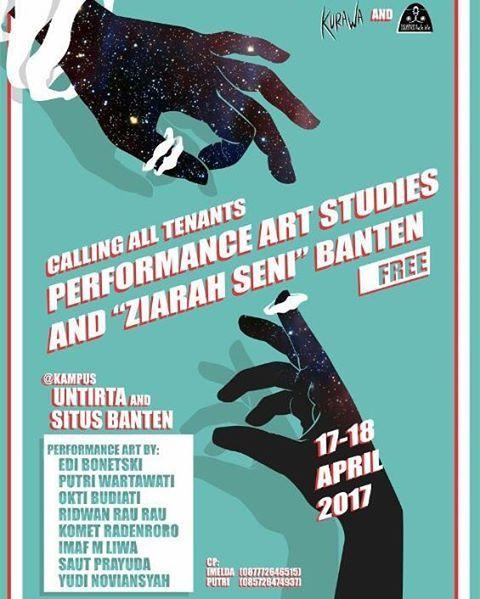 Performance Art Studies dan Ziarah Seni Banten 17 - 18 april 2017 kampus Universitas Tirtayasa dan beberapa situs di Banten .. Seperti 'Kraton Kaibon' 'Benteng Spelwijk' dan 'Makam Kerkhof' 'Klenteng avalokitesvara' #bantenwakwaw #banten #ziarah #sejarah #studiesperformance #performanceart