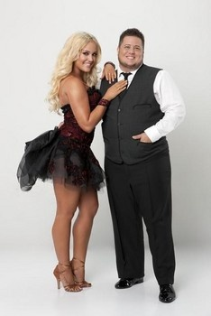 Lacey with Chaz Bono