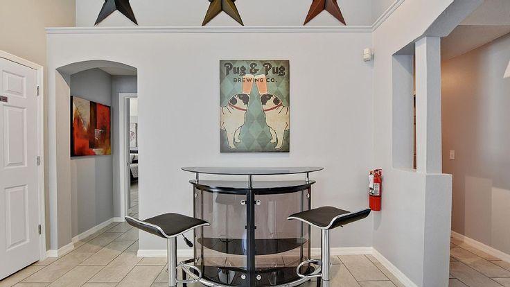 «Happy Days Villa» Vacation Rental Home Villas, 5 mins to Disney World with TheLuxuryVillasOrlando.com #vacation #rental #travel #vrbo #walt #disney #world #orlando #florida #universal #universalstudios #mickey #mouse #fun