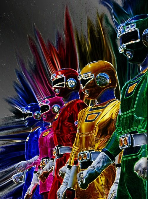 power rangers it irritates the hell out of me that children watch this! So violent