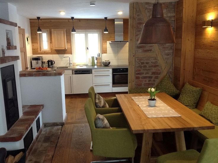 22 best Esszimmer images on Pinterest Chalets, Cottage and Cottages - küche mit esszimmer