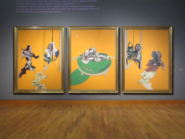 Francis Bacon, Triptych – Studies from the Human Body, 1970