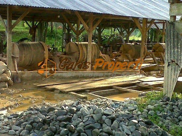 Tanah Dijual Di Manado Bekas Tambang Emas Dekat Bandara Samratulangi :: HARGA : Rp.7.000.000.000,-