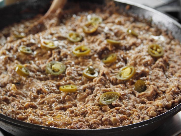 Refried Beans Recipe : Ree Drummond : Food Network - FoodNetwork.com