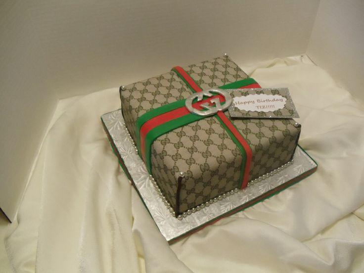 Gucci Fondant gum paste cake                                                                                                                                                                                 More