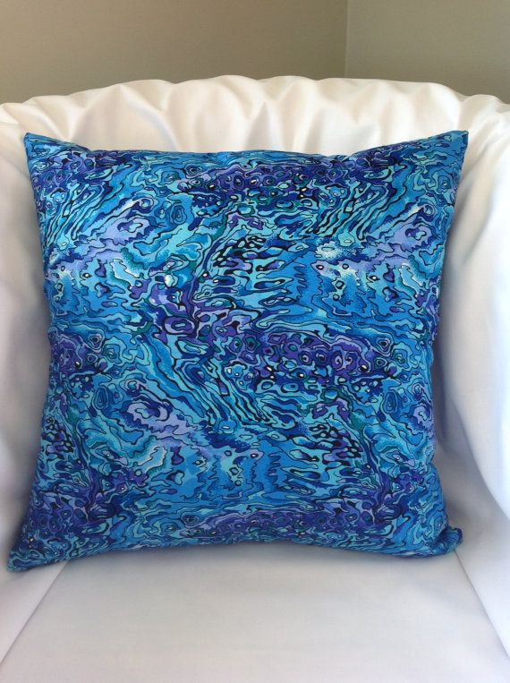 New Zealand design fabric cushion cover  by NewZealandNaturally
