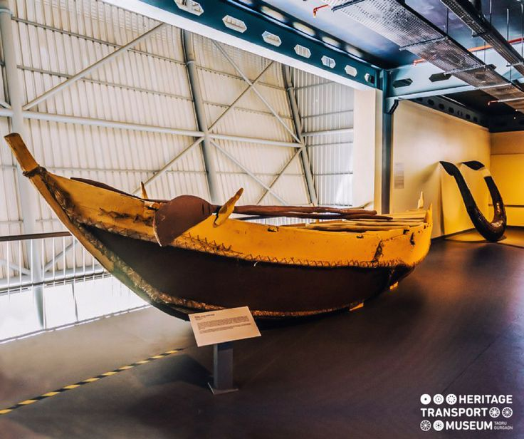 Padua is a boat from Orissa that was built by stitching together the wooden planks!  #heritagetransportmuseum #htm #transportmuseum #museum #vintagecollection #boat #boatmaking #orissa #incredibleindia