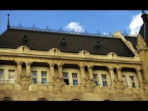 Fotos de: Hungria - Budapest - Antigüo palacio Gresham - edifico con enc...