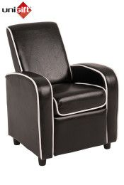 Retro Kids Recliner Chair - Black Our Price: $129.99