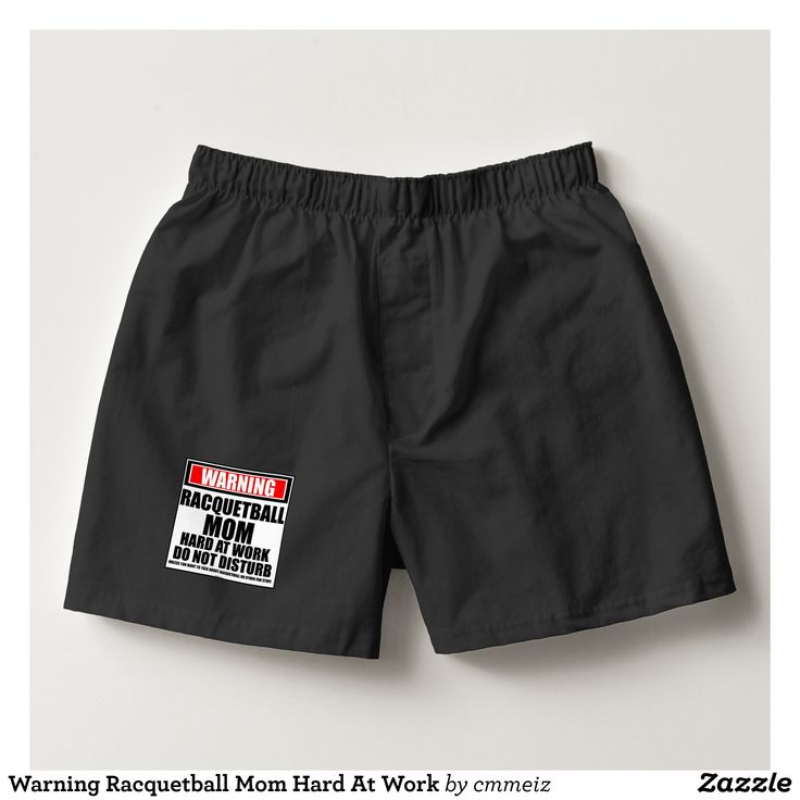 Warning Racquetball Mom Hard At Work Boxers - Dashing Cotton Underwear And Sleepwear By Talented Fashion And Graphic Designers - #underwear #boxershorts #boxers #mensfashion #apparel #shopping #bargain #sale #outfit #stylish #cool #graphicdesign #trendy #fashion #design #fashiondesign #designer #fashiondesigner #style