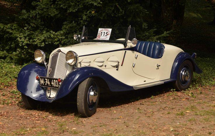 1934 Zbrojovka Z-4 3rd Series Roadster