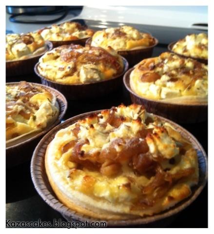 Caramelised Onion and feta Tart | YUMMY! | Pinterest