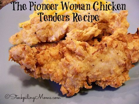 The Pioneer Woman Chicken Tenders Recipe is out of this world amazing! #thepioneerwoman #chickentenders http://www.stockpilingmoms.com/2014/06/the-pioneer-woman-chicken-tenders-recipe/