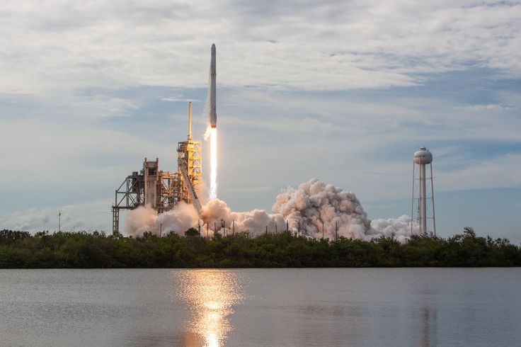 spacex launches rocket - 736×490