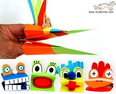 Paper handpuppets