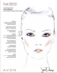 blank makeup face charts - Пошук Google