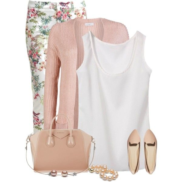 A fashion look from March 2015 featuring lightweight vest, pink tops y LIU•JO. Browse and shop related looks.