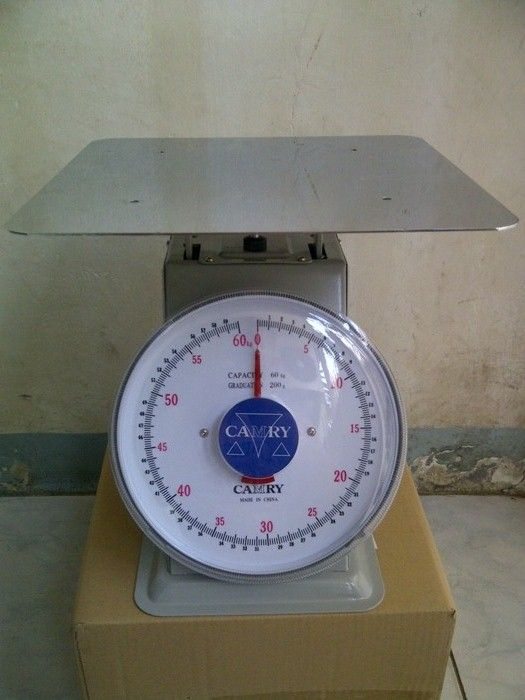 Harga Timbangan Duduk Manual Merk CamryKapasitas 30kg