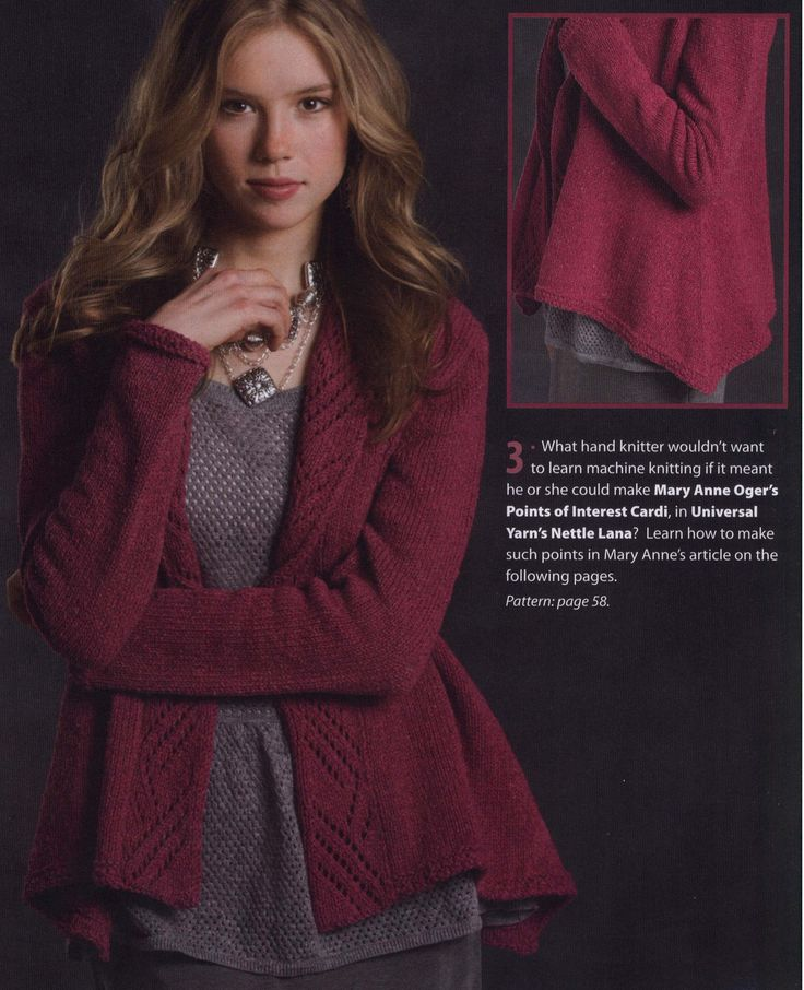 Love both the style of the sweater as well as the simplicity of the pattern.