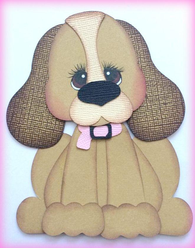Pet PAL собака premade шитье по бумаге, по моим разрыв медведи Кира in Рукоделие, Скрапбукинг и поделки из бумаги, Шитье по бумаге   eBay
