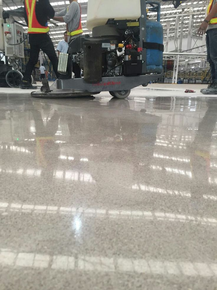 Woven Manufacture Floor | Polishing by Teknoklinz Indonesia Polished Concrete Expert