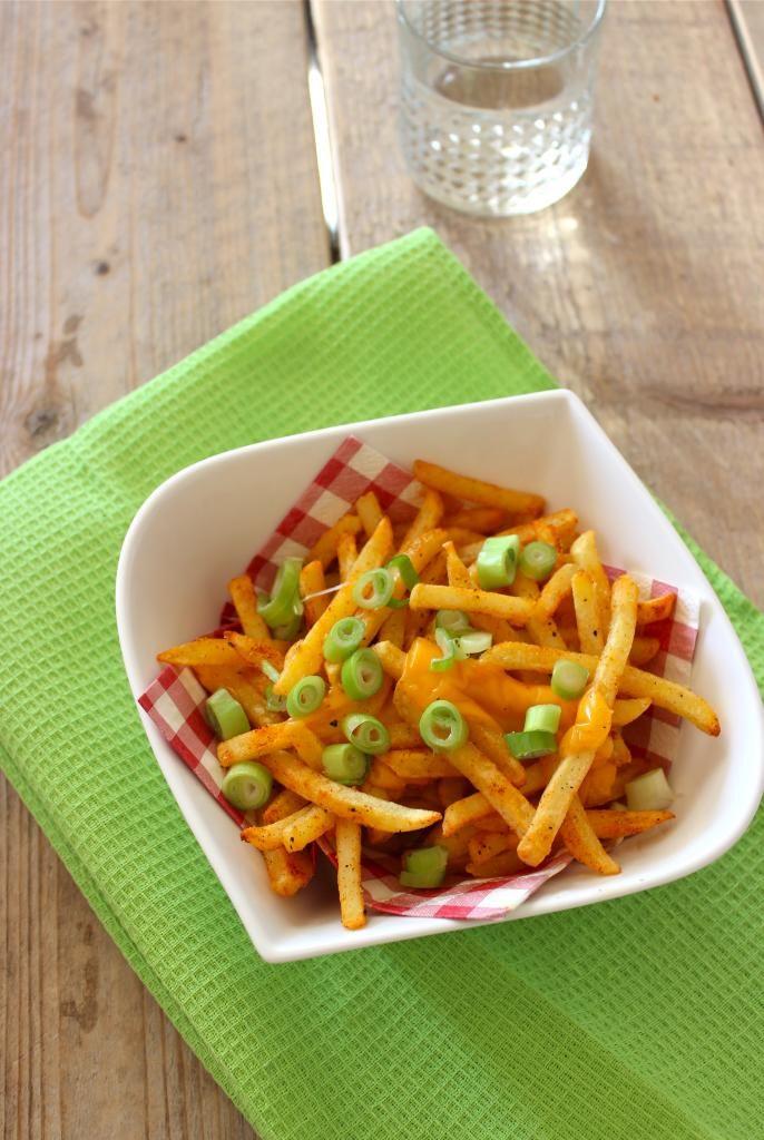 Cheese fries #kaas #friet #patat #recept #recipe