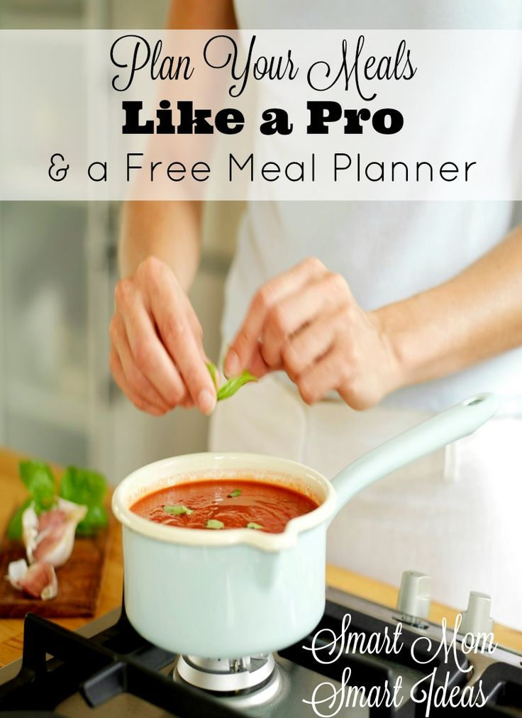 Tips to make meal planning easier and a Free meal planner to keep you organized.