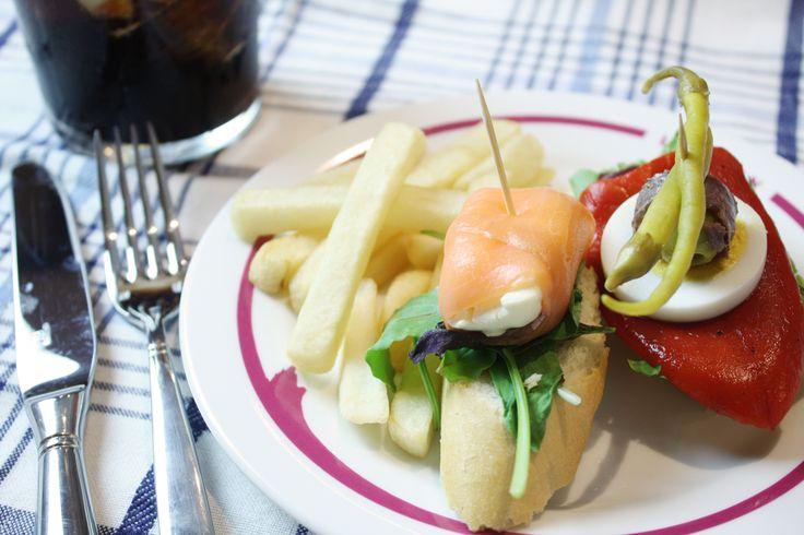 リザラン赤坂見附店のピンチョス #Lizarran #Spanish #food