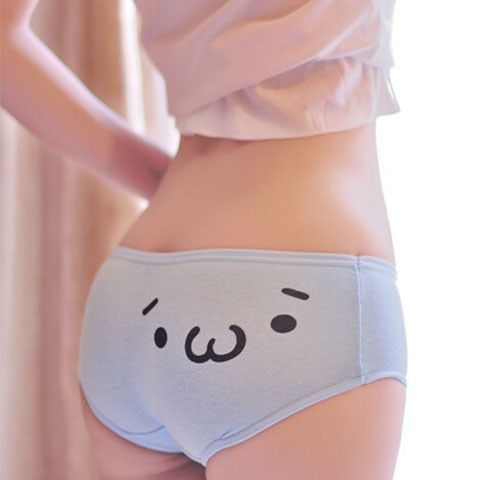 Pastel Kawaii Emoticons Underwear - Rebel Style Shop - Wear these colorful panties and show your mood in a fun, colorful way. Especially when you wear uniforms or have to follow dress codes, this cute underwear is all you need to express yourself. Made of cotton and polyester, the underwear is comfortable and fit for everyday use. Get them in all colors now that they're on sale.