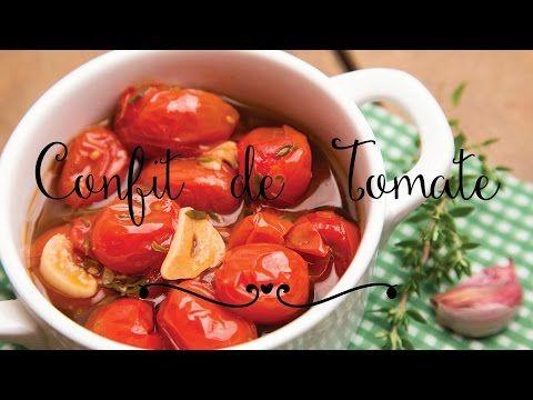 Confit de tomate | Pimenta e Sal, receitas para o dia-a-dia