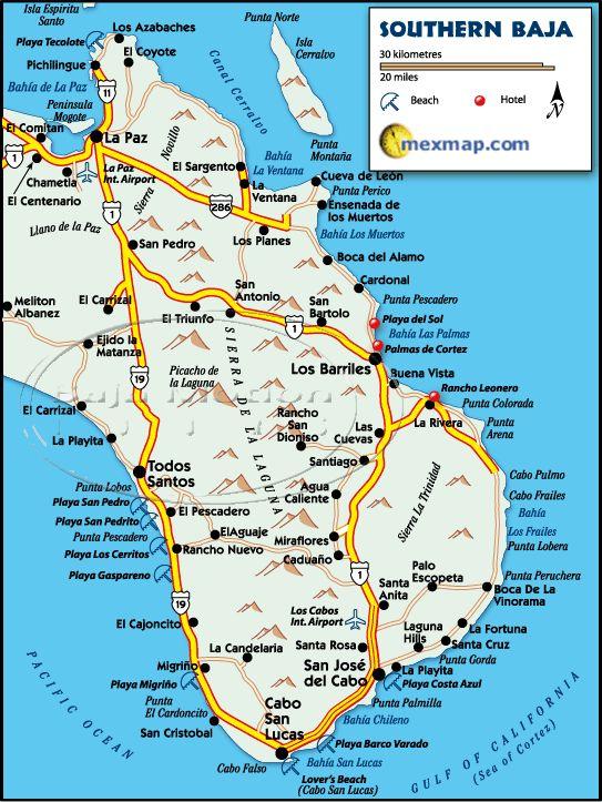 Baja Maps ( Baja California, Mexico)