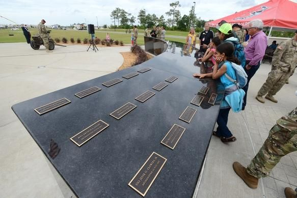 Photos: PHOTOS: 7th Special Forces Group memorial - Northwest Florida Daily News - Fort Walton Beach, FL