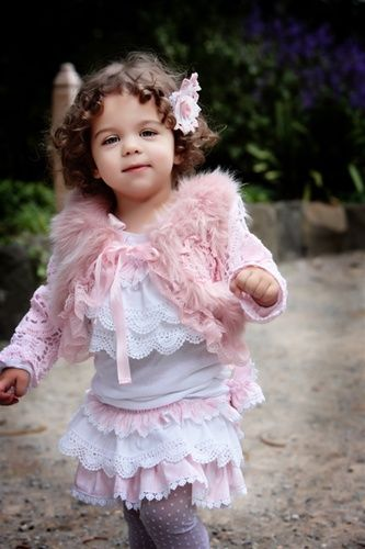 Dollcake - Girls Vintage Fru Fru Top: Little Girls, Fru Tops, Vintage Fru, So Cute, Girls Vintage, Baby Girls, Adorable Baby, Baby Outfit, Wife Wife
