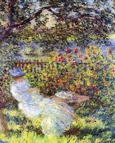 Claude Monet: Alice Hoschede in the Garden, 1881.