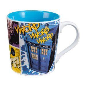 vandor 16061 doctor who 12 oz ceramic mug multicolor from