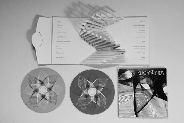 Lilla Tóth – Pop-up CD Packaging